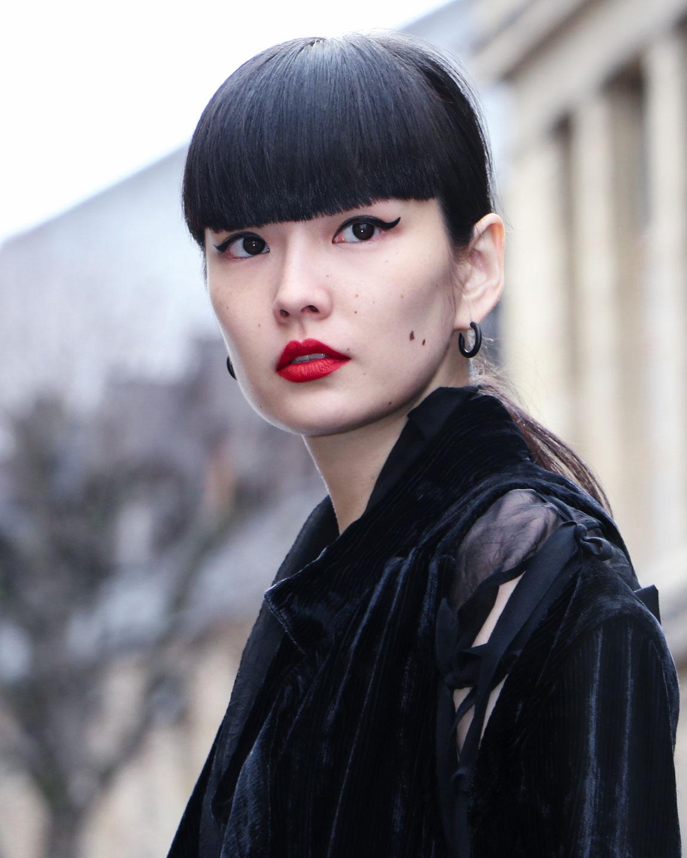 French Photographer Fashion Photography Ann Demeulemeester / Akimoto Kozue
