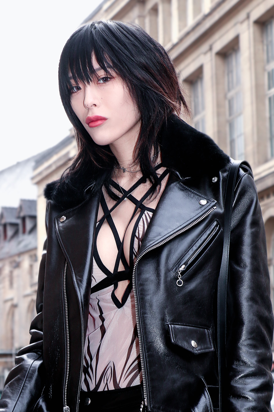 French Photographer Fashion Photography Ann Demeulemeester / Asian Model