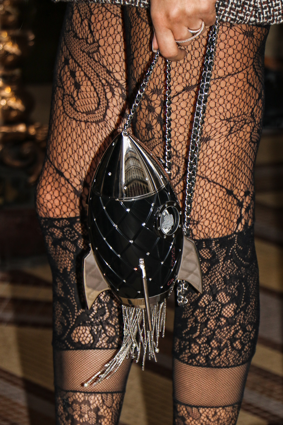 French Photographer Fashion Photography The Chanel Rocket Clutch