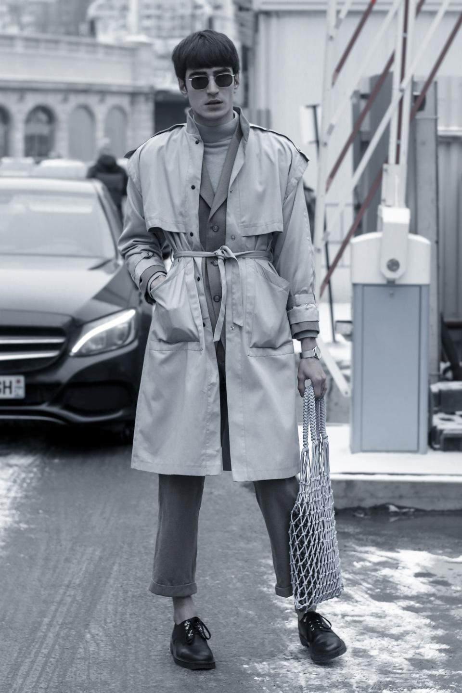 French Photographer Fashion Photography Chloe / Net Bag/ Cross the Border