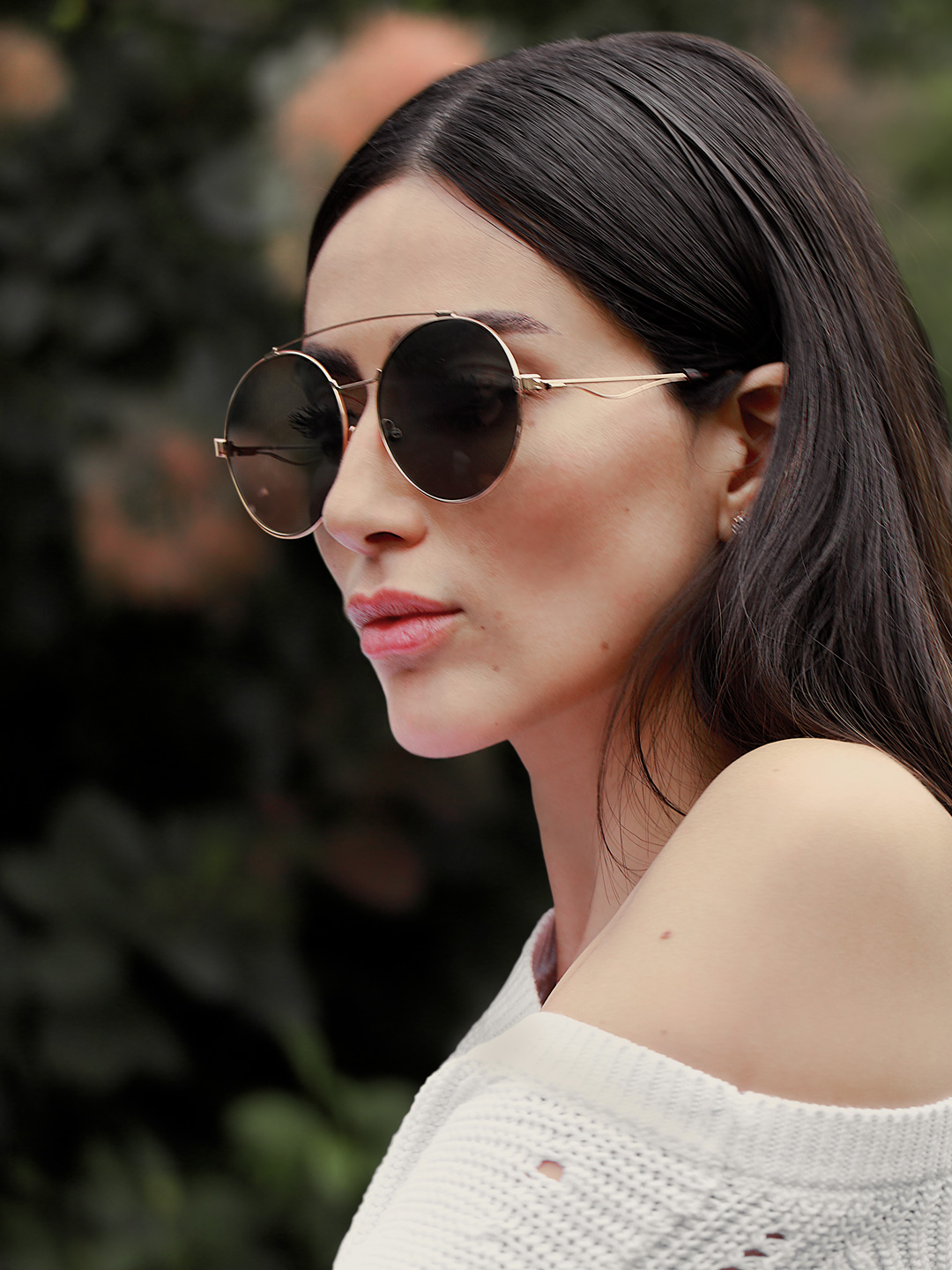 French Photographer Fashion Photography Givenchy Women's Sunglasses