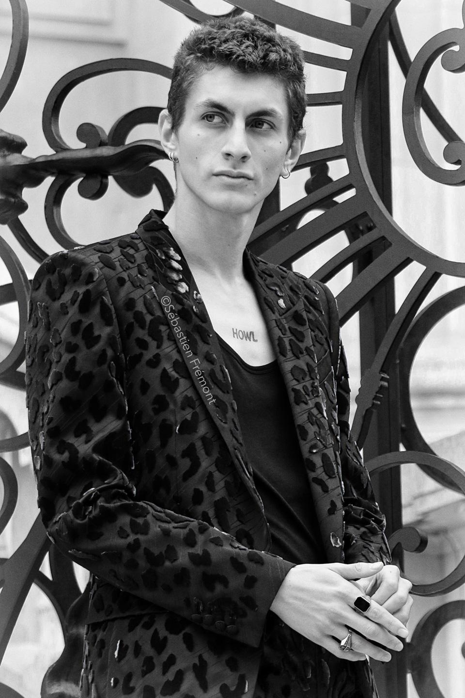French Photographer Portrait Photography Givenchy /Henry Kitcher