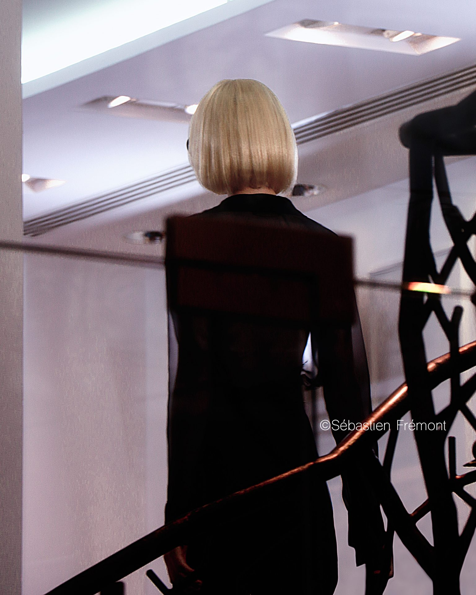 French Photographer Fashion Photography Guy Laroche's homage to Mireille Darc