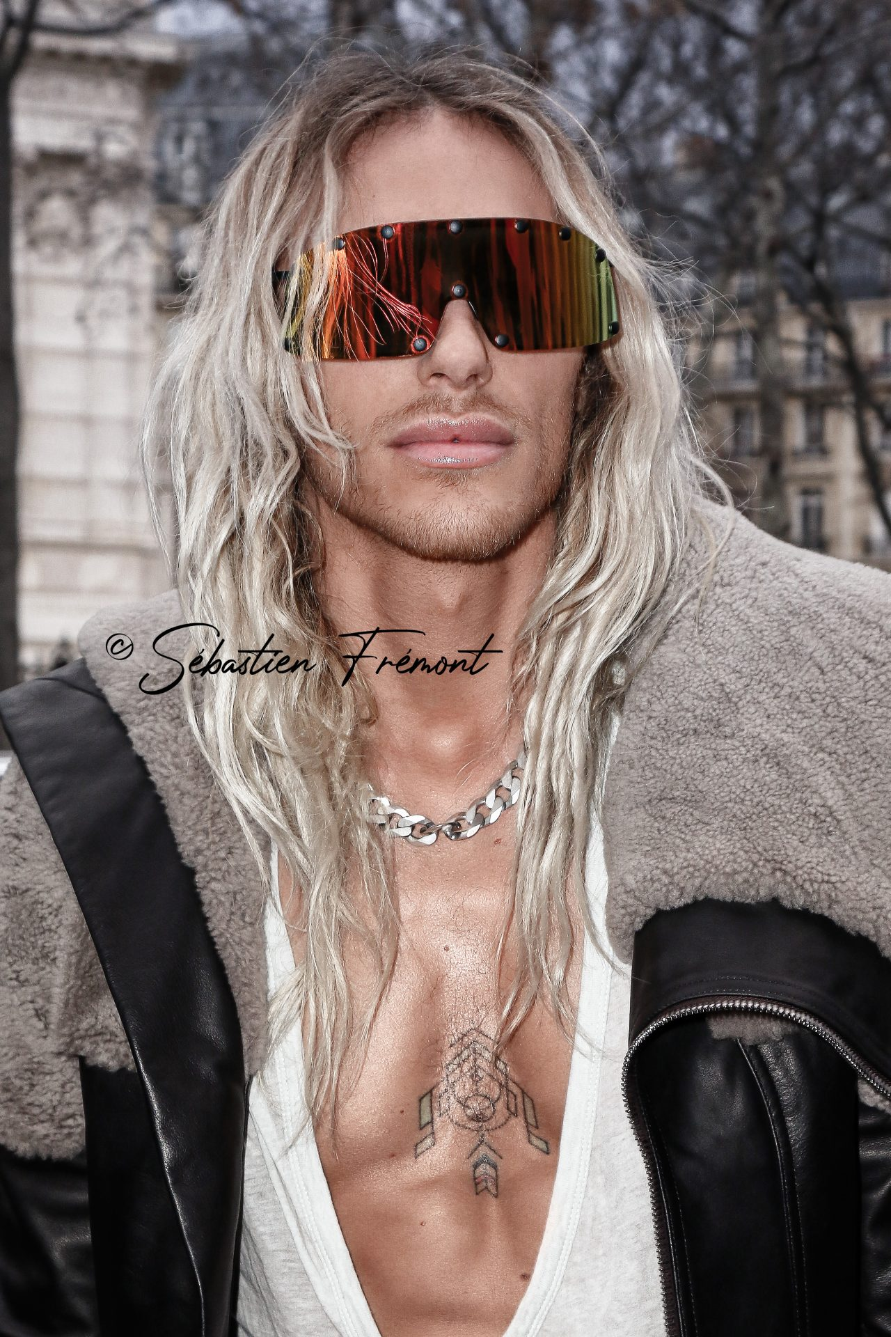 French Photographer Portrait Photography Rick Owens / Tyrone Dylan Susman