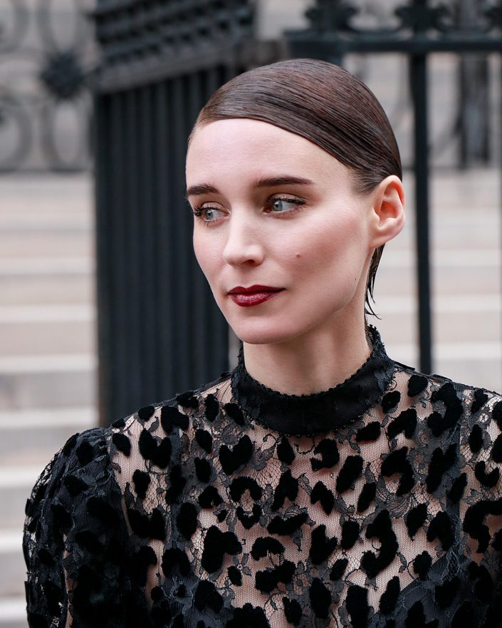 French Photographer Fashion Photography Rooney Mara / Givenchy
