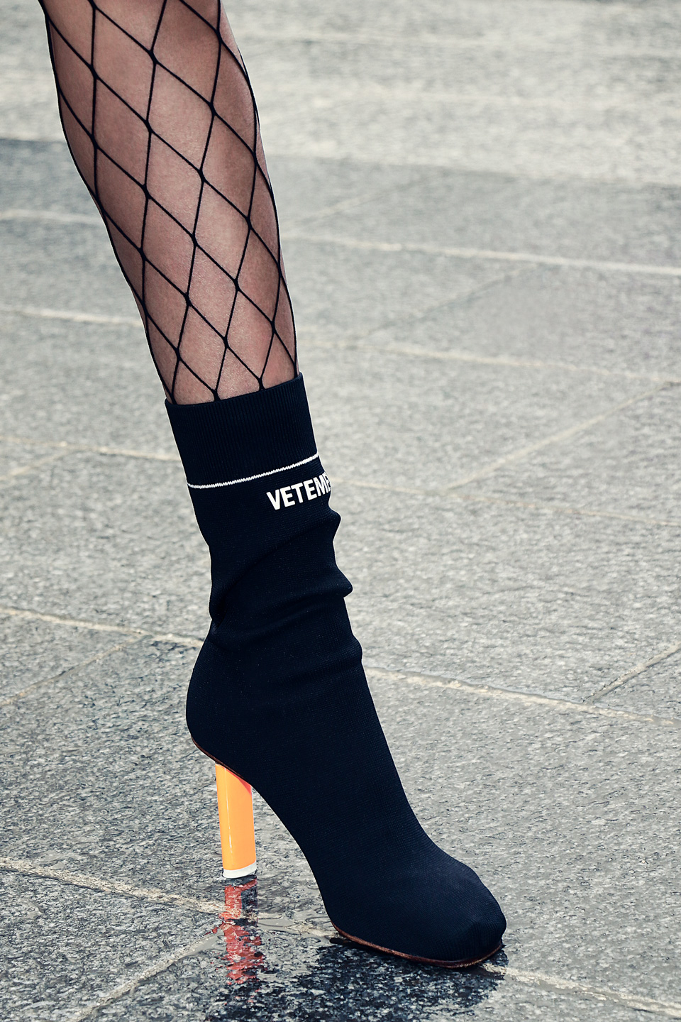 French Photographer Fashion Photography Vetements's Sock Ankle Boots