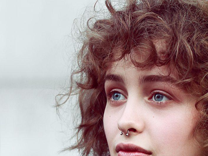 French Photographer Portrait Photography Marisha Urushadze / Christophe Lemaire