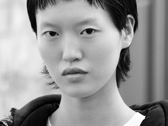 French Photographer Portrait Photography Shujing Zhou / Christian Dior