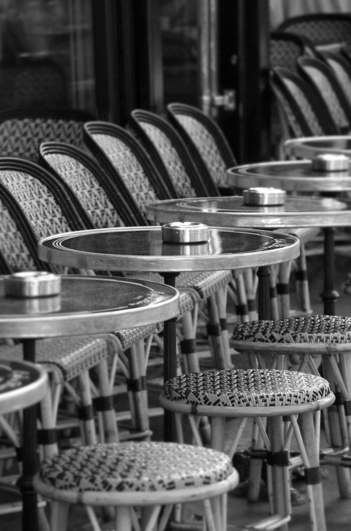 French Photographer Paris France Street Photography Café de Flore Terrace