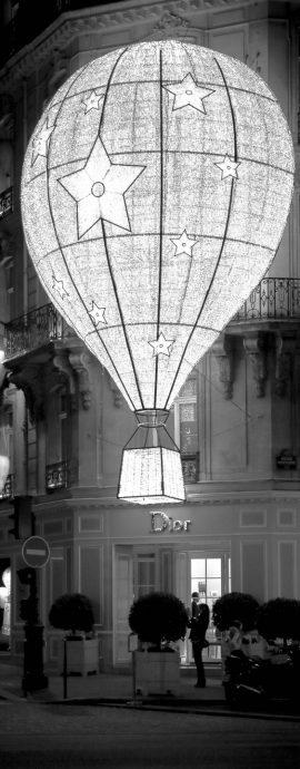 French Photographer Street Photography Christian Dior Balloon