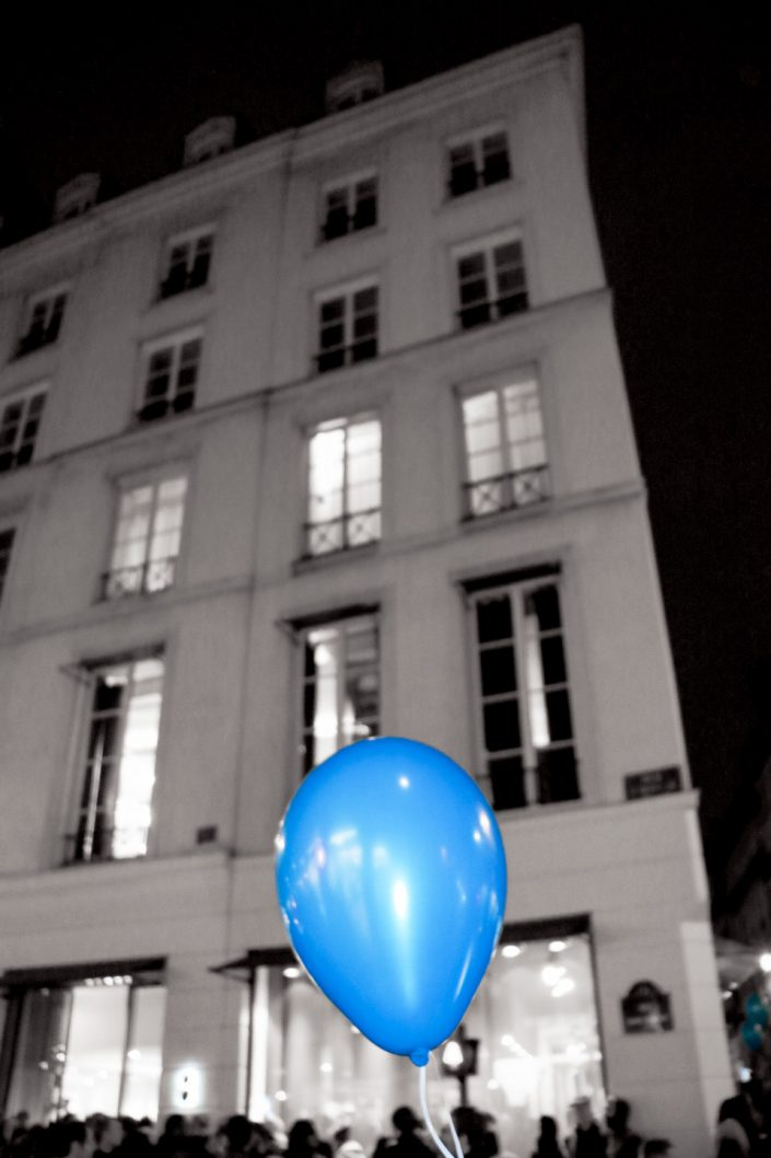 French Photographer Street Photography Colette Balloon