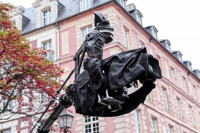 French Photographer Paris France Street Photography Louma Givenchy Filming