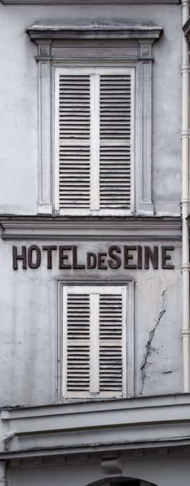 French Photographer Street Photography Hotel de Seine