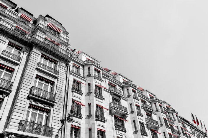 French Photographer Street Photography Hôtel Le Bristol Paris