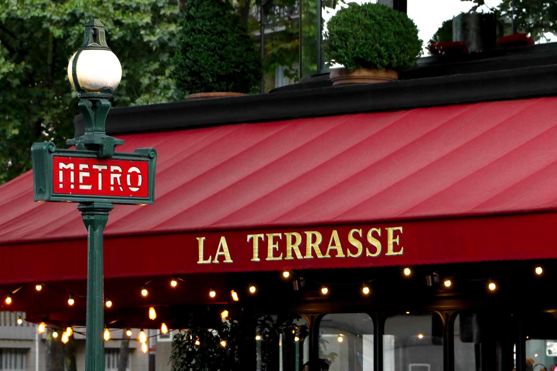 French Photographer Paris France Street Photography Brasserie La Terrasse du 7ème