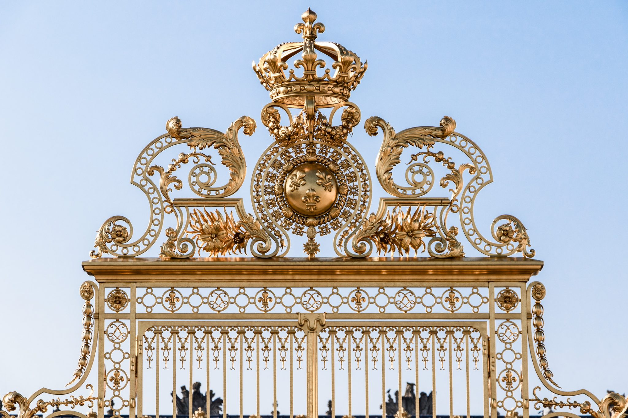 French Photographer Street Photography The King's Golden Gate to the Palace of Versailles