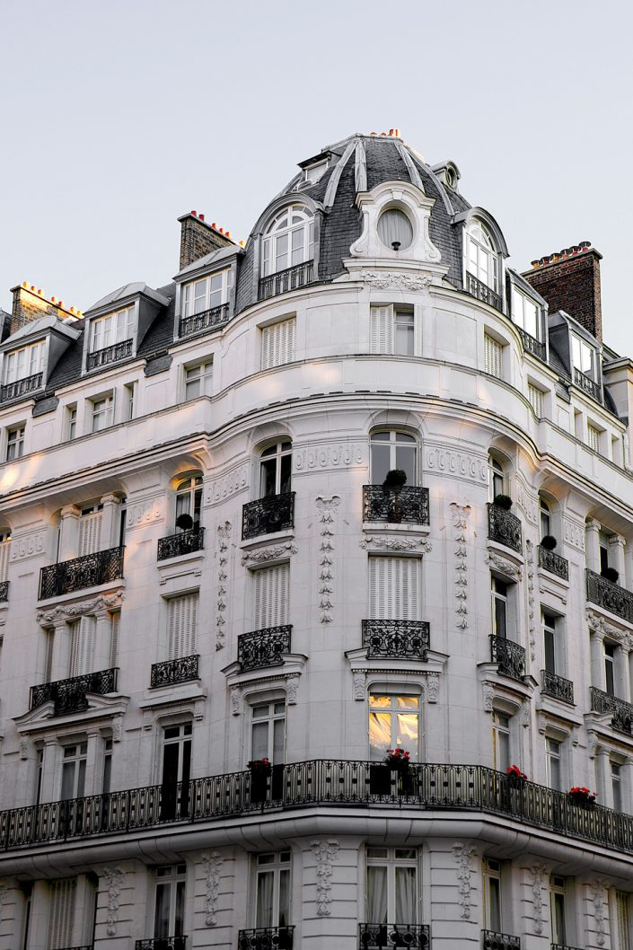 French Photographer Street Photography Paris Haussman Building