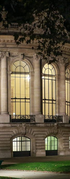 French Photographer Street Photography Petit Palais by Night