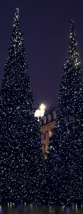 French Photographer Street Photography Christmas lights in Paris Place Vendôme