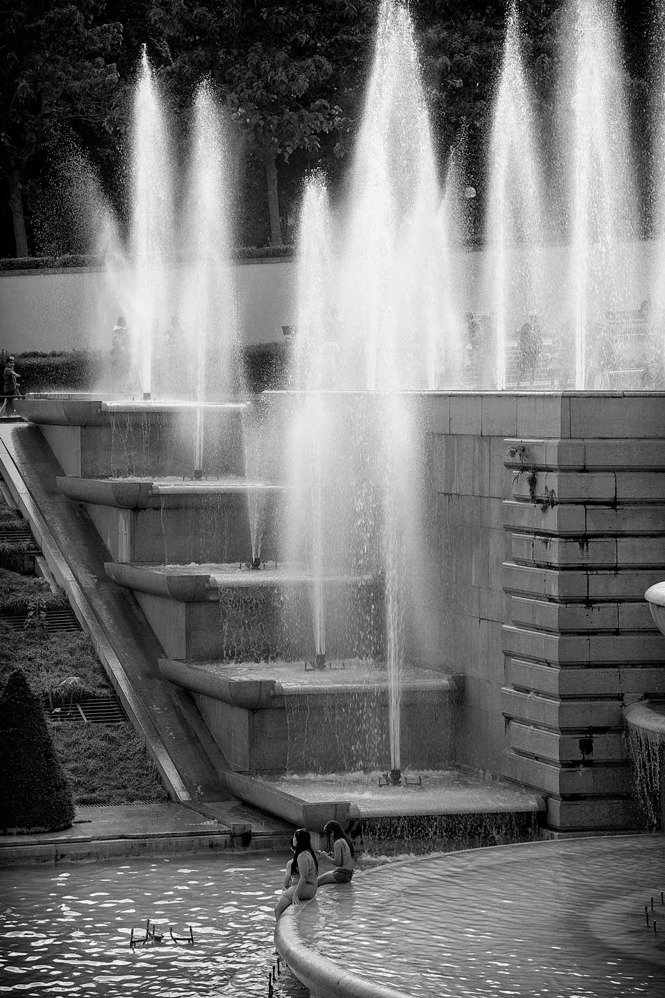 French Photographer Street Photography Fountain