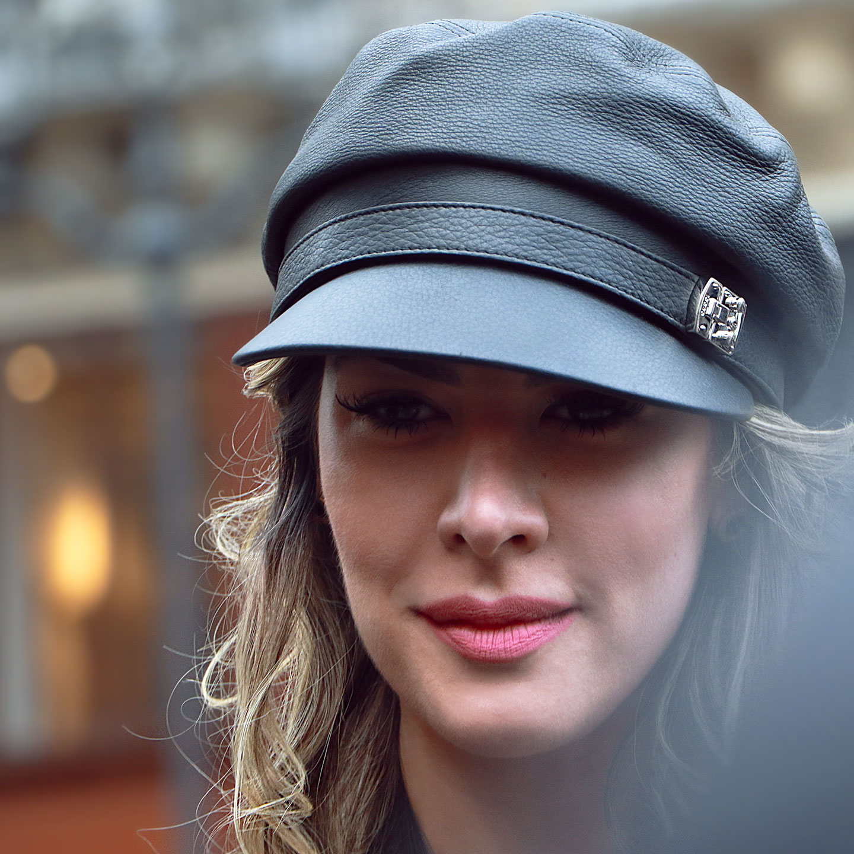 French Photographer Fashion Photography Prada Leather Cap