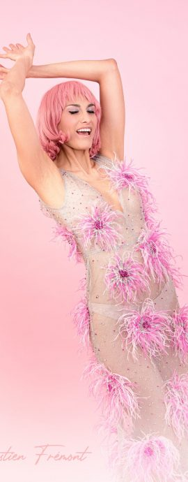 French Photographer Artwork Photography Reminiscence / Wonder Pink Lady