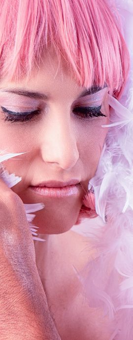 French Photographer Artwork Photography Backstage Reminiscence / Pink Lady